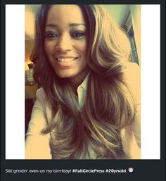 Keke Palmer doing this to my hair!