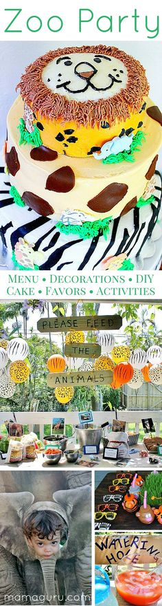 This is a complete guide to throwing a fabulous zoo birthday party! You can throw the best party on the block, without racking your brain to…
