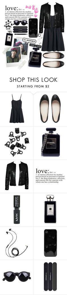 """""""I LOVE TEN CHITTAPHON (NCT U MEMBER)"""" by choosemaknae ❤ liked on Polyvore featuring H&M, Chanel, WALL, Topshop, Jo Malone, Molami, MAC Cosmetics and NARS Cosmetics"""