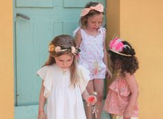Louise Misha SS14 moda infantil, se respira el verano http://www.minimoda.es  Lovely new summer collection
