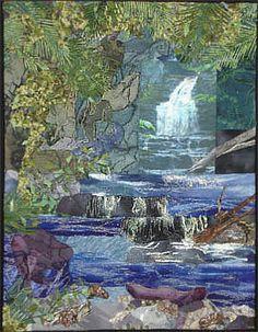 Cascad Falls by Kathy Angel Lee