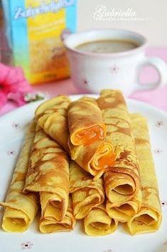 Zabpehelylisztes palacsinta Bakery Recipes, Diet Recipes, Vegetarian Recipes, Snack Recipes, Cooking Recipes, Healthy Desserts, Healthy Cooking, Healthy Recipes, Clean9