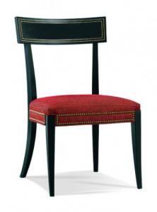 Hickory White - 901-66-00 Klismos Side Chair W 24.5 D 23.75 H 38