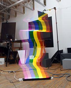 Neat rogue rainbow light!