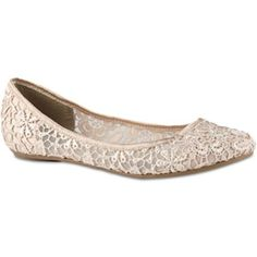 Call It Spring Taibi Lace Ballet Flats Jcpenney Fall Wedding Shoes Bridal