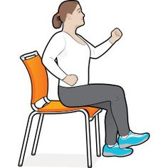 8 Exercise Moves You Can Do in Your Chair: Diabetes Forecast Magazine