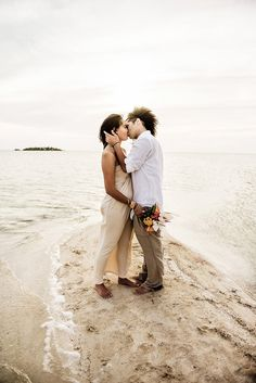 Intimate Wedding in the Middle of the Ocean: Thomas  Kimberly