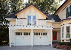 The garage door can make up as much as 30 percent of a home's façade. That in itself should make investing in the right one a priority, especially if your home is weighed down with an older steel or fiberglass model out of sync with the architecture of the house. Architecturally intriguing options for the …