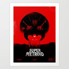 Buy Super Metroid by Iwilding as a high quality Art Print. Worldwide shipping available at Society6.com. Just one of millions of products available.