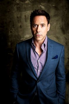 Robert Downey Jr. photographed by Jay L. Clendenin for the Los Angeles Times