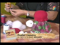 anabel 27 agosto 2013 Country, Youtube, Cakes, Christmas Fabric, How To Make, Dolls Dolls, Fabric Dolls, Rural Area, Country Music