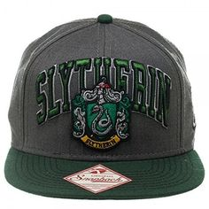 Harry Potter Slytherin Snapback Baseball Cap Hat (18 CAD) ❤ liked on  Polyvore featuring 46ebc395c9ee