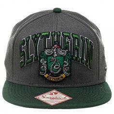 Harry Potter Slytherin Snapback Baseball Cap Hat (18 CAD) ❤ liked on Polyvore…