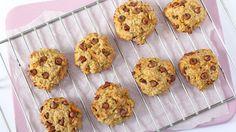 Maškrťte zdravo: Vyskúšajte ovsené sušienky s jablkami, mrkvou a banánom