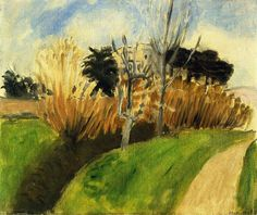 The Stream (near Nice), 1919 by Henri Matisse. Post-Impressionism. landscape. Private Collection