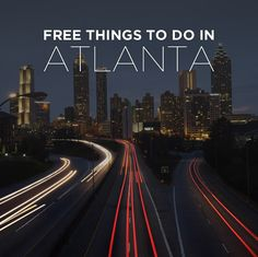 Atlanta will always be home for us. For those of you who are visiting on a budget, we've put together a list of free things to do in Atlanta Georgia.