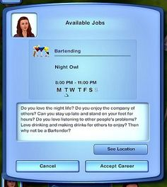 My Sims 3 Blog: Careers by MissyHissy