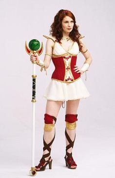 Rocked my Codex Cosplay last year but really need to find someone who could make her corset for a reasonable price.