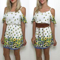 Um vestido que é cara do Verão! (R$12990)  Compre pelo site http://ift.tt/PYA077 ou mande um whats 47 99531716.