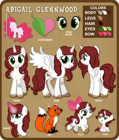 [Commission] Reference Sheet OC Abigail Glennwood by TheodoresFan on DeviantArt