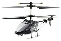 i-helicopter Air i-400 ihelicopter Controlled by iPhone/iPad/iPod (Black) by i-helicopter. $24.50. Download application in Apple store or Android marketplace. Spare parts included in the box. Operates from iphone, ipad, or ipod touch. Newest Model i-400. No batteries needed. From the Manufacturer                The i-400 Air ihelicopter makes it possible to use your iPhone, iPad or iPod Touch as a remote control for a RC Helicopter. Plug the transmitter in the audio jack,...