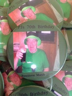 Personalise #pinbadges for your celebrations at www.badgeboy.co.uk