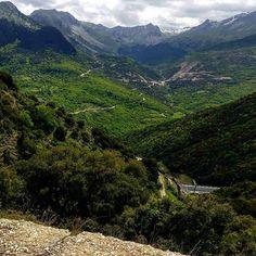 On the road series.  Greece  #greece #roadtrip #audi #ontheroad #audia4 #epirus #mountains #ridge #thelonelytraveler #travelphotography #travel #vacation #travelshoots