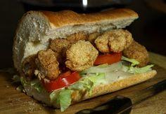 The 99 Cent Chef: Fried Alligator Po' Boy - Sandwich VIDEO