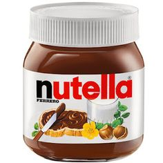 I was just recently introduced to Nutella. Nutella, where had you been all my life? Nutella Label, Nutella Gifts, Christmas On A Budget, Christmas Gift Guide, Holiday Gifts, Personalized Gifts, Personalised Labels, Chocolate Spread, Shopping