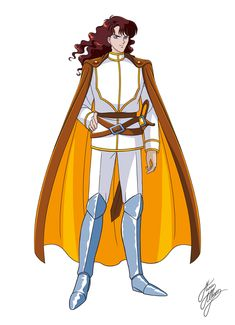 Neflyte, my fav sailor moon villain. Shipping him and Mercury before shipping was cool ;)