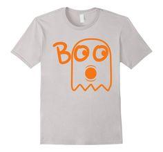 eb535cdfc Amazon.com: Ghost Boo Halloween T Shirt: Clothing Perfect Halloween costume  shirt.