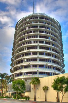 Capitol Records, a Hollywood Icon, Los Angeles, California