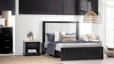 Montauk Bed Frame Bedroom, Furniture, Home Decor, Decoration Home, Room Decor, Bedrooms, Home Furnishings, Home Interior Design, Dorm Room