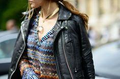 #sofiasanchez #sofiasanchezbarrenechea #street #style #streetstyle #fashion #details #leather #jacket #onthestreet