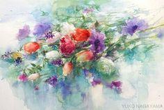 adelaparvu.com despre picturi acuarela, artist Yuko Nagayama (31)