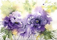 """inspired by lisianthus"" by lyn frye"