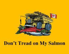 Salmon Gasden Flag - #Alaska rocks @Phyllis Weisenburger ROCKS