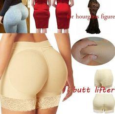 933e13bc61f Women Seamless Hip Enhancer Body Shaper Push Up Padded Panties Underwear  Briefs