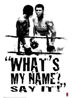 """I'm so mean, I make medicine sick"" - RIP The Greatest Muhammad Ali Boxing, Muhammad Ali Quotes, Boxe Mma, Boxe Fight, Boxing Posters, Float Like A Butterfly, Boxing Champions, Black Art Pictures, Black Artwork"