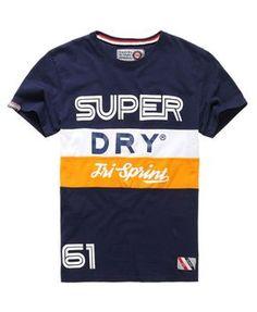 Superdry Velo Peleton T-shirt Navy Mens Polo T Shirts, Boys T Shirts, Tee Shirts, Polo Shirt Style, Camisa Polo, Casual T Shirts, Men Casual, Superdry Style, T Shirt Painting