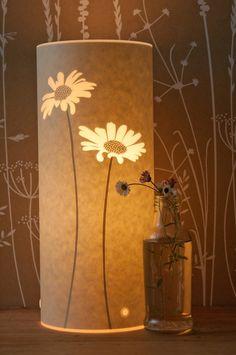 Small Daisy Table Lamp by Hannahnunn on Etsy