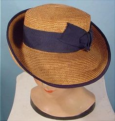 1900 SQUIRE Sporty Straw Hat