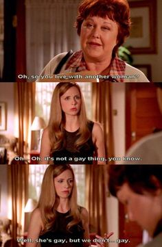 """Community Post: 23 Signs You And Your BFF Are Buffy And Willow From """"Buffy The…"""