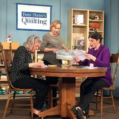 The 2800 series of Fons & Porter's Love of Quilting brings you Patrick Lose, Mary Fons, Marianne Fons, and amazing guests, who helped make this set of shows a blast! We have goodies lined up for you in addition to these wonderful episodes. Get a behind-the-scenes look and some insider insight!