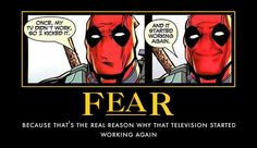 Thats only because its Deadpool