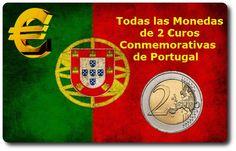 Todas las Monedas de 2 Euros Conmemorativas de Portugal