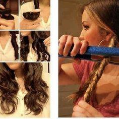 Pour avoir les cheveux ondulé facilement et rapidement les…