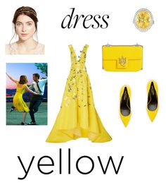 """""""Untitled #177"""" by littleprincessaurora ❤ liked on Polyvore featuring Monique Lhuillier, Yves Saint Laurent, Alexander McQueen, Blue Nile and Jennifer Behr"""