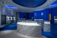 Jewellery Shop Design, Jewelry Shop, Jewelry Stores, Clinic Design, Pearl Necklaces, Showroom, Counter, Museum, Pearls