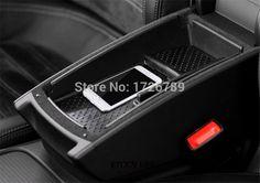 Car Armrest Box Central Secondary Storage Glove Phone Holder Container For VW Volkswagen CC Passat B7 MAGOTAN B6 B7L